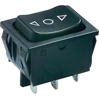 Toggle switch 250 Vac 6 A 2 x (On)/Off/(On) Marquardt