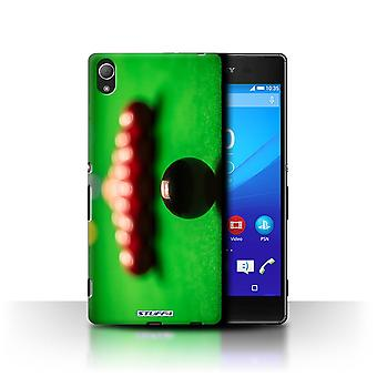 STUFF4 Sag/Cover til Sony Xperia Z3 +/ Plus/sort kugle/Rack/Snooker