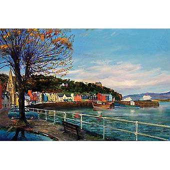 Ronnie Leckie stampa - autunno Tobermory