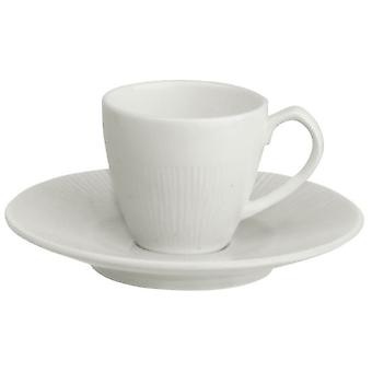 Avet Coffee Cup With Plate 90 Ml Set of 6