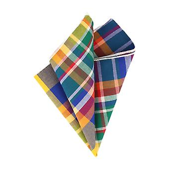 Andrews & co. handkerchief multicolor Plaid handkerchief Cavalier cloth