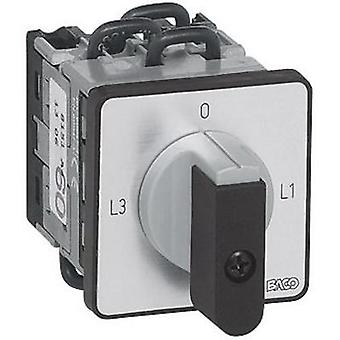 Ammeter changeover switch 16 A 2 x 90 ° Grey, Bl