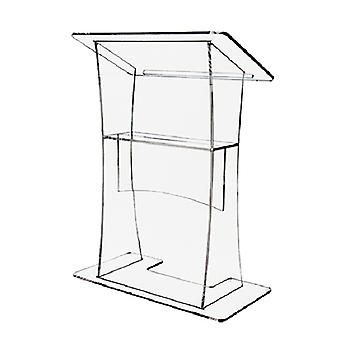 Clear Acrylic Lectern - 800mm