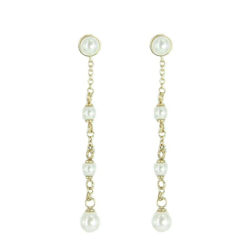 Skagen women's earrings gold JESG035