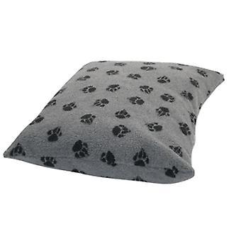 Fleece pote grå dynebetræk Medium 71x98cm