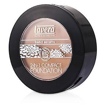 Lavera 2 i 1 Compact Foundation - # 03 Honey - 10g / 0,32 oz