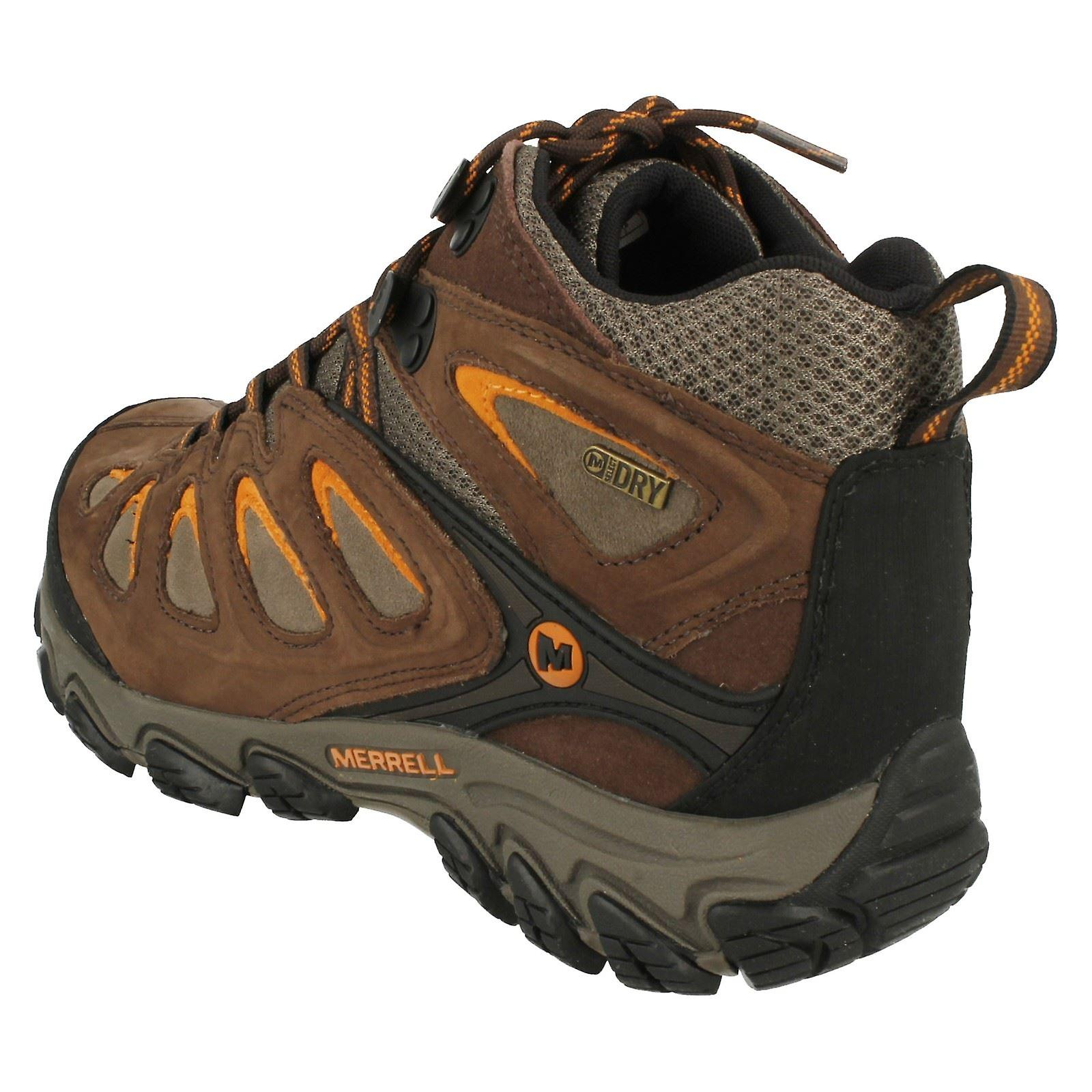 Mens Pulsate Merrell Waterproof Boots Walking Mid Merrell Waterproof OwrqgUO