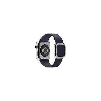 Apple 38 mm Modern Buckle-medium-klockrem-Midnight Blue-Watch (38 mm)