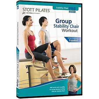 Stott Pilates: Gruppe stabilitet stol [DVD] USA importerer