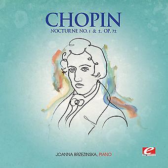F. Chopin - Nocturnes 1 & 2 Op 72 [CD] USA import