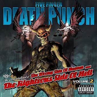 Fem Finger Death Punch - fem Finger Death Punch: Vol. 2-forkerte Side af himlen & retfærdige Side O [CD] USA importen