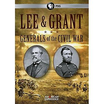 Lee & Grant: Generals of the Civil War [DVD] USA import