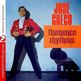 Jose Greco - Flamenco Rhythms [CD] USA import