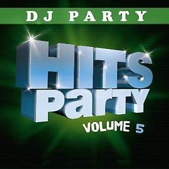 DJ Party - DJ-Party: Vol. 5-Hits Party [CD] USA import