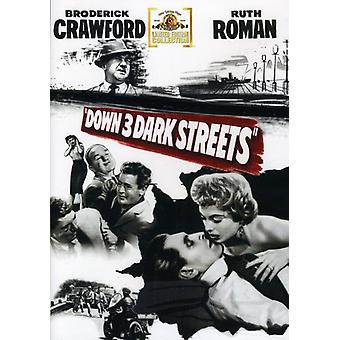 Down Three Dark Streets [DVD] USA import