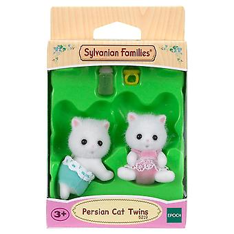 Sylvanian Families Persian Cat Twins Doll