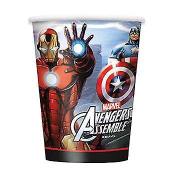 Marvel's Avengers 9 oz Cups [8 Per Package]