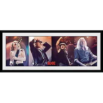 AC/DC Band inramade Collector Print