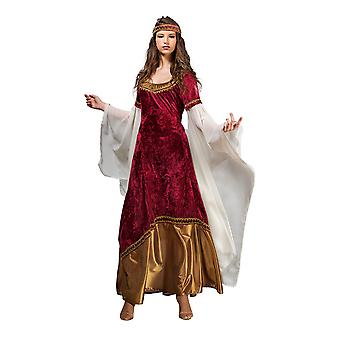 Elf Princess ladies costume Elf costume Womens costume Red