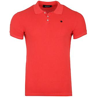 DSQUARED2 Basic T-Shirt men's Polo Shirt red S74GD0076 S22743 307
