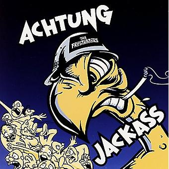 Frustrators - Achtung Jackass [Vinyl] USA importerer