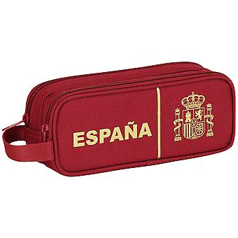 Safta España Portatodo Doble 21X8X6 (Toys , School Zone , Pencil Case)