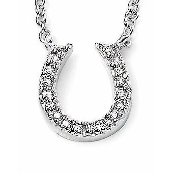 925 Silver Horseshoe Necklace