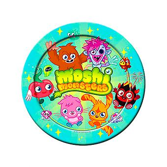 Moshi monster Party papper tallrikar 23cm