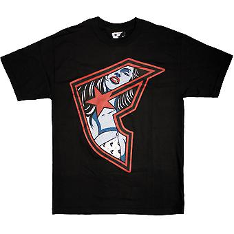 Beroemde sterren en bandjes binnen BOH T-shirt zwart