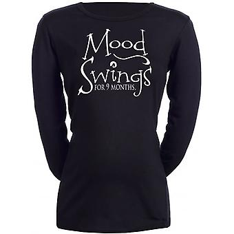 Spoilt Rotten Mood Swings For 9 Months Maternity T-Shirt