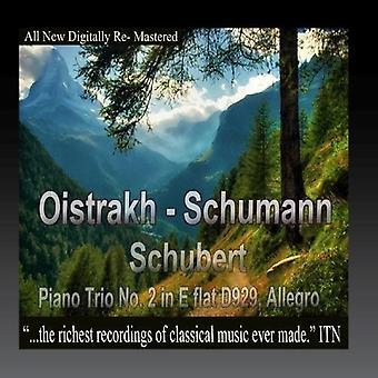Oistrakh, David / Knushevitsky, Sviatoslav / Oborin - Oistrakh - Schumann; Schubert; Piano Trio No. 2 in [CD] USA import