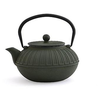 Berghoff Cast iron teapot dark green 1,5l