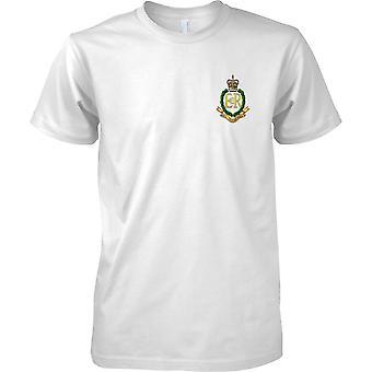 Gelicentieerde MOD - Britse leger Royal Military Police Insignia - Mens borst Design T-Shirt