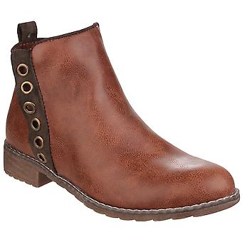 Divaz Womens/Ladies Demi Pull On Ankle Boots
