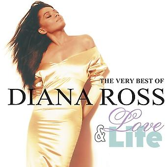 Diana Ross - Love & Life-the Very Best of [CD] USA import