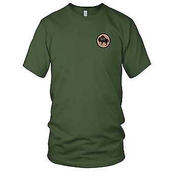 Pułku Piechoty - 371 armii USA haftowane Patch - Koszula męska z i wojny światowej T