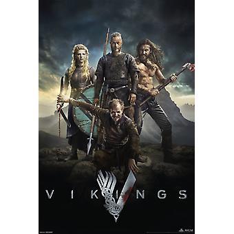 Vikings - Characters Poster Poster Print