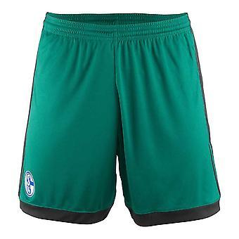 2017-2018 Schalke Adidas Third Shorts (Green) - Kids