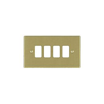 Hamilton Litestat Hartland ottone satinato 4G Apert Gridfix piastra + griglia