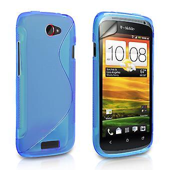 Caseflex HTC One S S-Line Case - Blue