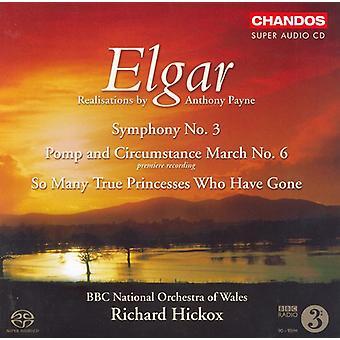 E. Elgar - Elgar: Symphony No. 3; Pomp and Circumstance March No. 6 [SACD] USA import