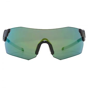 Smith Pivlockare Maxn Sunglasses In Black Green Mirror