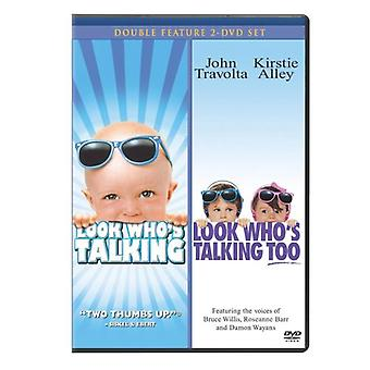 Look Who's Talking/Look Who's Talking Too [DVD] USA import
