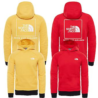 The North Face Hoody Raglan Red Box
