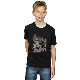 Tom and Jerry Boys Cartoon Wink T-Shirt