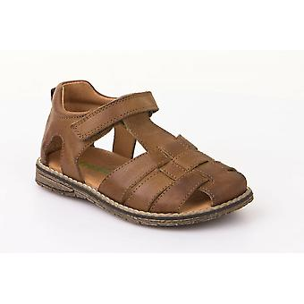 Froddo G3150101-2 Brown Leather Closed Toe Traditional Sandals