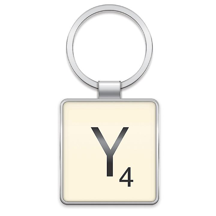 Scrabble Keyring - Letter Y by Wild & Wolf