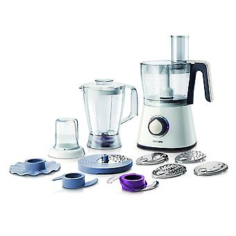 Philips 750 W Kitchen Food Processor HR7761/01 with Accessories for + 28 Functions [Energy Class A]