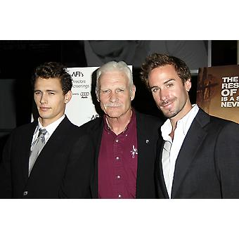 James Franco Captain Dale Dye Joseph Fiennes At Arrivals For The Great Raid Premiere The Arclight Cinema Los Angeles Ca August 04 2005 Photo By Michael GermanaEverett Collection Celebrity