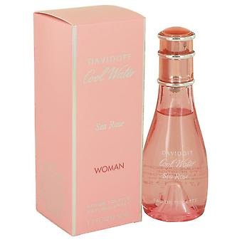 Cool Water Sea Rose Eau De Toilette Spray By Davidoff